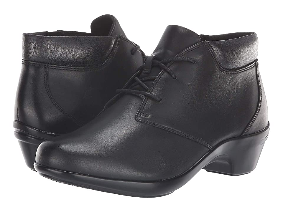 Aravon Kitt Chukka (Black Leather) Women