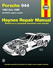 Porsche 944: Automotive Repair Manual--1983 thru 1989, All Models Including Turbo (Haynes Manuals)