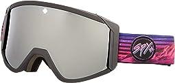 Spy + Chris Rasman - Hd Bronze w/ Silver Spectra Mirror + Hd Ll