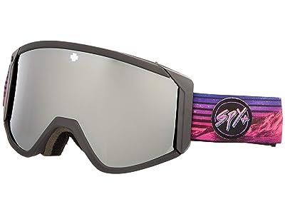 Spy Optic Raider (Spy + Chris Rasman Hd Bronze w/ Silver Spectra Mirror + Hd Ll) Snow Goggles