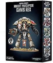 Games Workshop Warhammer 40,000 Knight Preceptor Canis Rex