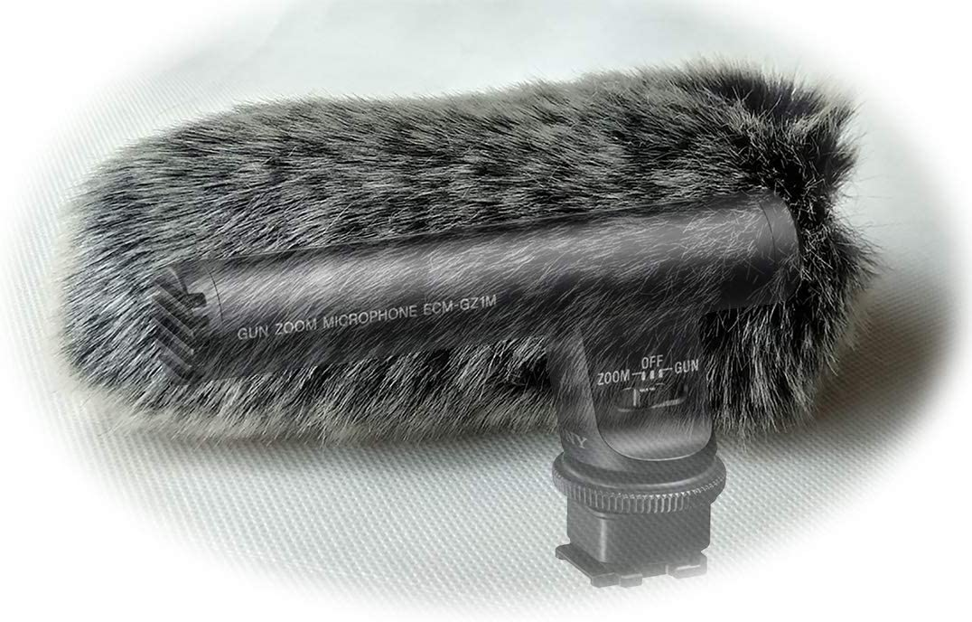 Furry 2021 new MIC Windshield Today's only Windscreen WIND Compatible EC for Muff sony