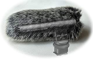 Furry MIC Windshield Windscreen WIND Muff Compatible for sony ECM-GZ1M ZOOM Microphone