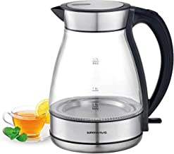 Superwave - Electric Kettle 1.7L Glass - SWK634GS