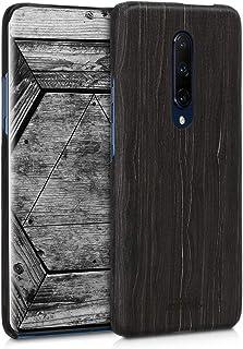 kalibri OnePlus 7 Pro 用 ケース - 超スリム ウッド スマホカバー - 木製 携帯 保護ケース