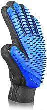 Pet Hair Remover Glove - Gentle Pet Grooming Glove Brush - Efficient Deshedding Glove - Massage Mitt with Enhanced Five Fi...