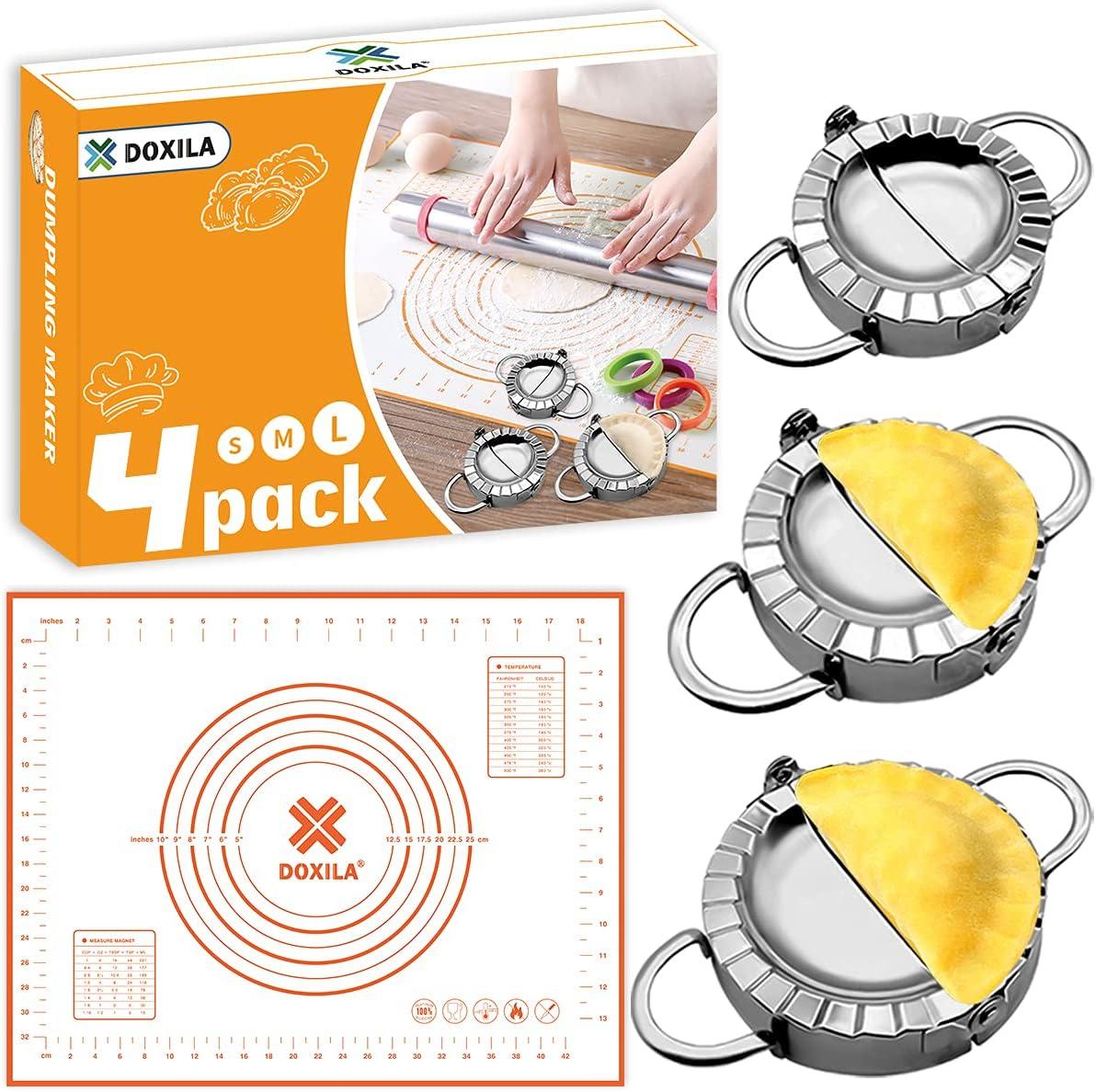 Empanada Maker Machine Cheap sale DOXILA 4 Press PCS Max 83% OFF of Sili with