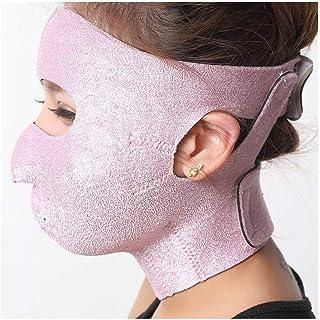 Gezichtsvermindering Gezichtsverband, kleine V Gezichtsartefact Slaap Dunne gezichtshefriemmasker met hefmasker Verstevige...