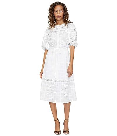 Sanctuary Peninsula Heirloom Midi Dress (White) Women