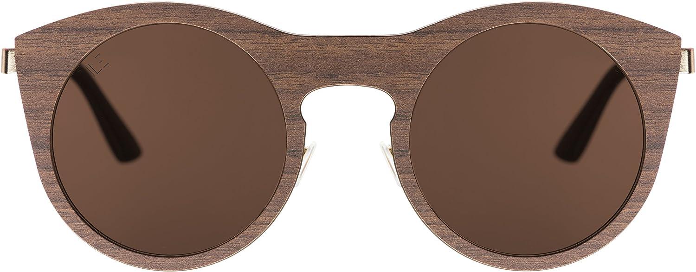 ILE  Italian Laminate Eyewear   Model 2  Castagno. The first unique fashion laminate eyewear in the world
