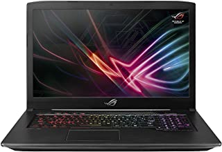 Asus ROG Strix GL703GS-E5010T Gaming Laptop -Intel Core i7-8750H, 17.3-Inch FHD, 1TB + 256GB SSD, 16GB, 8GB VGA-GTX1080, Eng-Arb-KB, Windows 10, Scar Gun Metal