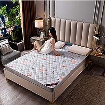 Latex Mattress Cushion,Tatami Mattress Full Size Topper for Bedroom Living Room Dorm Room, Thicken 6Cm Sponge