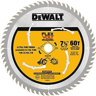 DEWALT FLEXVOLT 7-1/4-Inch Circular Saw Blade, 60-Tooth (DWAFV3760)