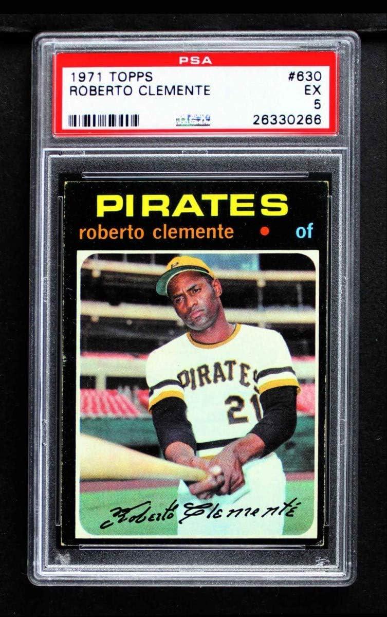 1971 Topps # 630 Roberto Baseball Clemente C Pittsburgh Los Angeles Mall Pirates Latest item