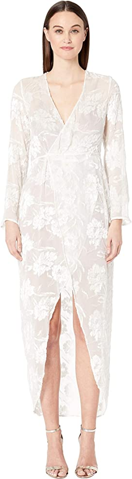 2c7170f864e Rebecca Taylor Long Sleeve Terri Embroidered Dress at Zappos.com