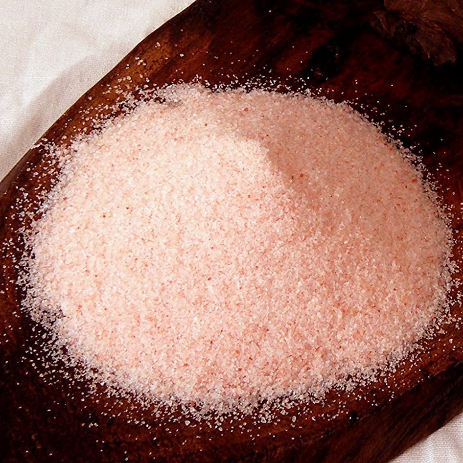 警官データムフリルヒマラヤ岩塩 バスソルト ローズソルト 溶けやすい細粒タイプ 5kg 塩洗顔にも 【保管に便利な1kg×5パック】