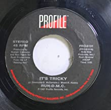 """RUN D.M.C. It's Tricky/ Proud To Be Black 7"""" 45 rpm Profile PRO-5131 (1987) PS"""