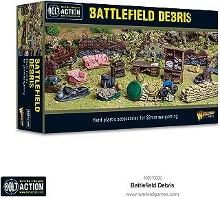 WarLord Bolt Action Battlefield Debris 1:56 WWII Military Wargaming Plastic Model Kit 402010002