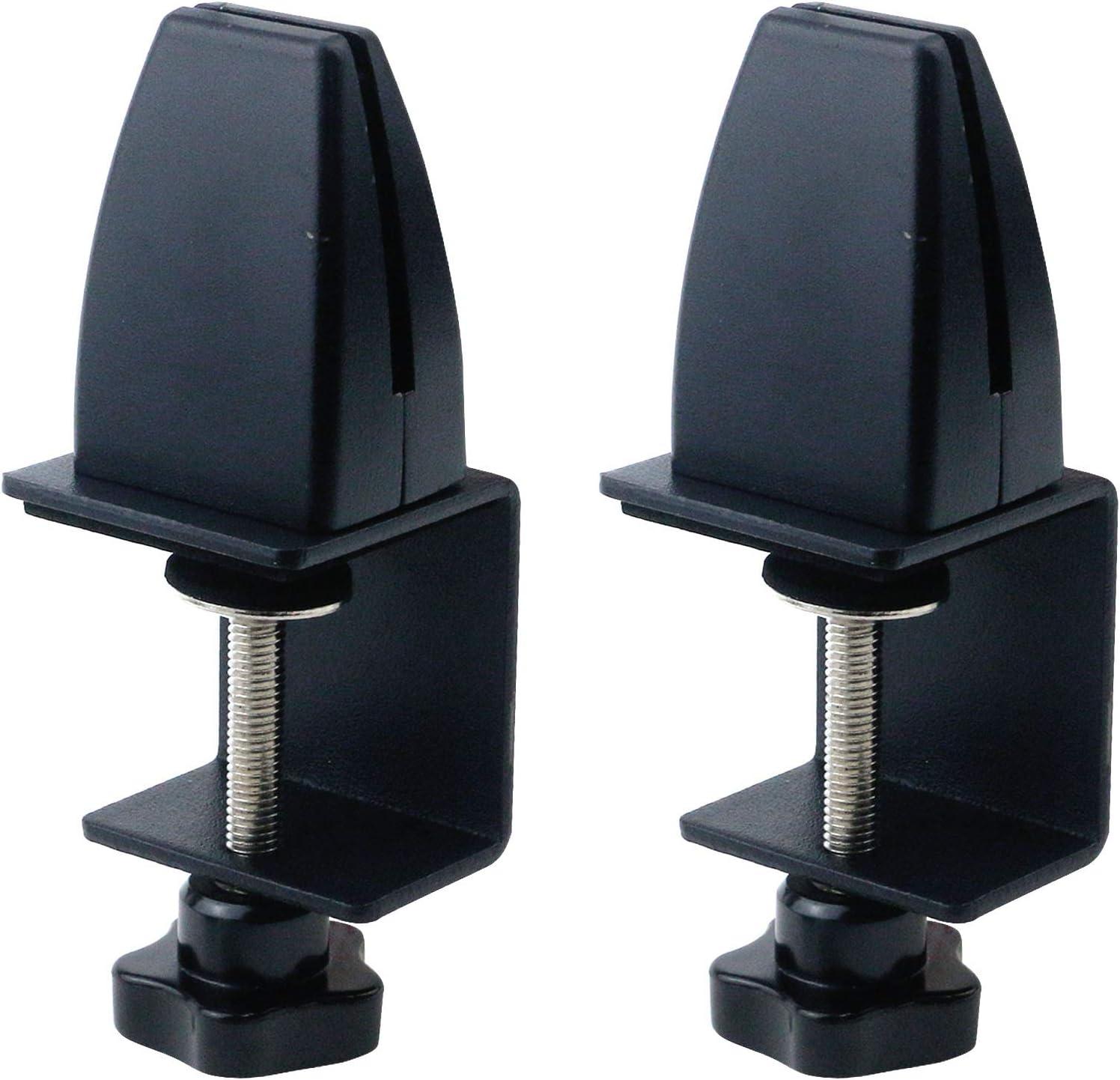 T Tulead 2Sets C-Shape supreme Partition Support Alloy Aluminum Bracket Max 81% OFF