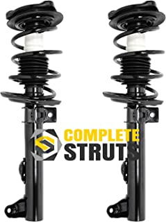 Front Quick Complete Struts & Coil Spring Assemblies Compatible with 2008-2011 Mercedes C300 RWD W204 (Pair)