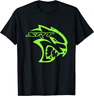AWESOME SRT HELL CAT DODGE T SHIRT Green