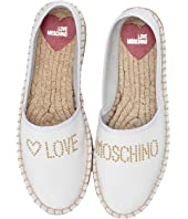 LOVE Moschino - Studded Espadrilles