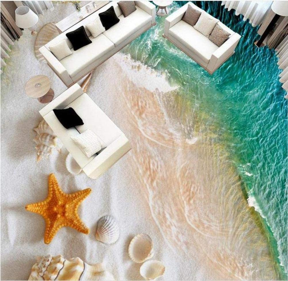 Customized 3D Floor Oil Painting Living Conch Bathroom Wallpaper Ranking TOP2 Tucson Mall