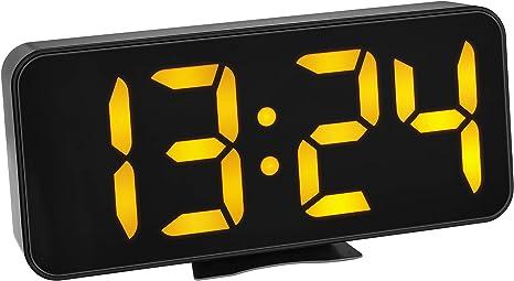 TFA Dostmann 60.2027.01 - Despertador Digital con números