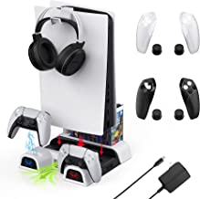 $68 » Sponsored Ad - 7 in 1 PS5 Console Cooling Fan Stand Charging Station Kit Including WeProGame Dobe Charger Dock, Controller...
