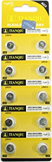 10 Tianqiu AG3 / LR41 / 192 Button Cell 1.5V Battery Long Shelf Life 0% Mercury (Expire Date Marked)