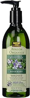 Avalon Organics Glycerin Hand Soap Rosemary 12 Ounce 3 Multi