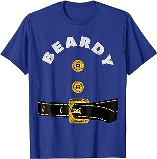 Beardy Fancy Dress Dwarf Costume T-Shirt