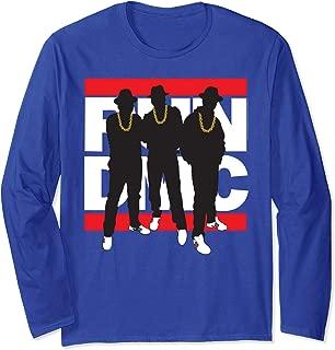 Run DMC Official Silhouette Long Sleeve T-Shirt