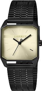 Esprit Cube Ladies Women's Gold Dial Stainless steel Analog Watch Watch - ES1L071M0045