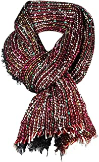 Metallic Collection Eighteen Variegated Color Shawl Wrap Long Range Scarf