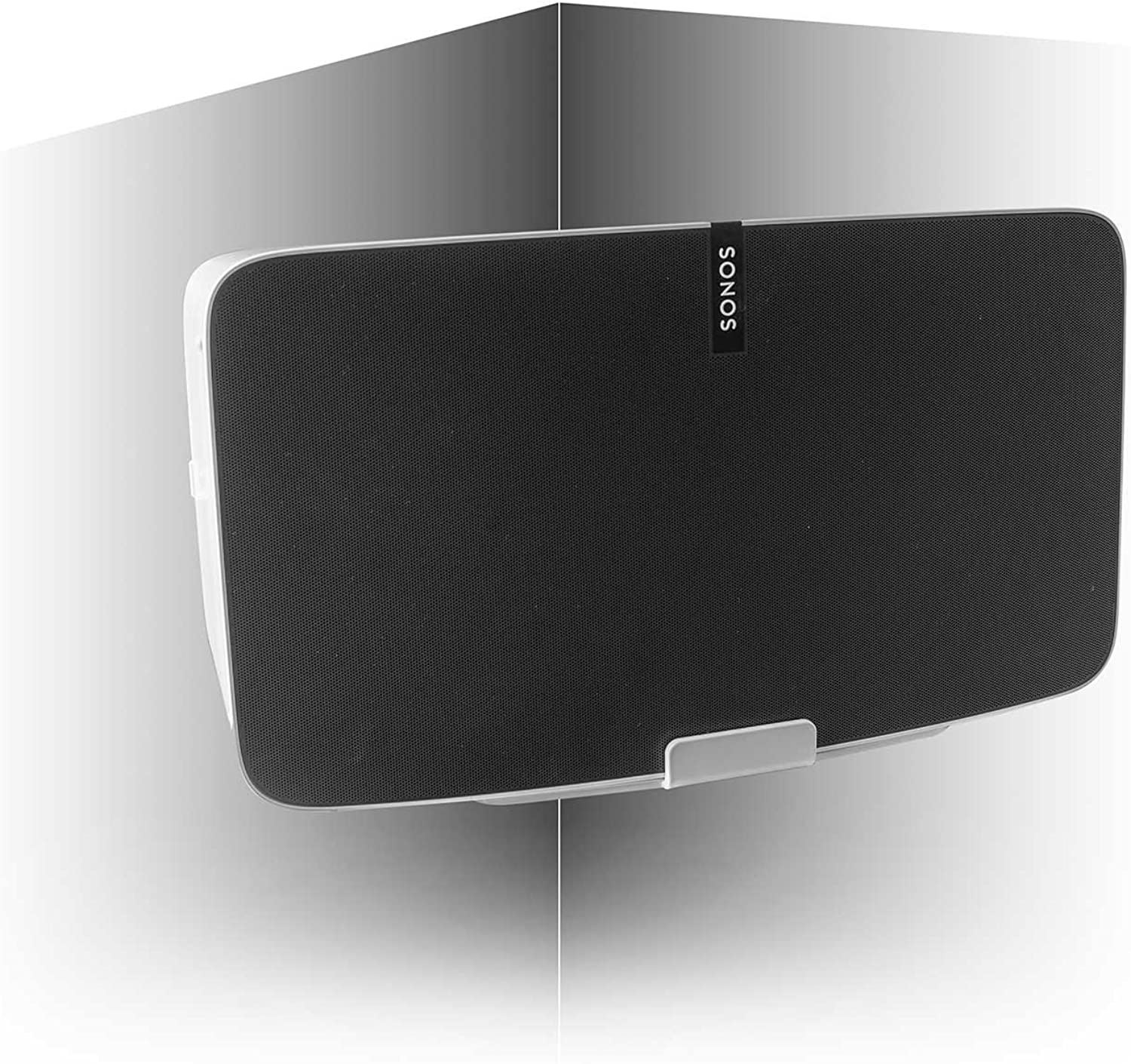 Vebos corner wall mount Play 5 gen 2 white - Compatible with Sonos Play 5