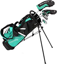 Aspire Junior Plus Complete Golf Club Set for Children, Kids - 5 Age Groups Boys and Girls - Right Hand, Real Girls Junior...