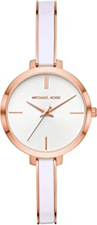 Michael Kors Women's Quartz Watch analog Display and Stainless Steel Strap, MK4342