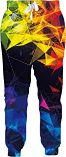 ALISISTER Unisex Joggers Cool 3D Graphic Casual Sport Trousers Sweatpants with Drawstring Pockets S-XXL