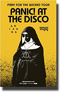 Panic! at The Disco Poster Concert Tour Promo 11 x 17 inches 2018 Pray for The Wicked