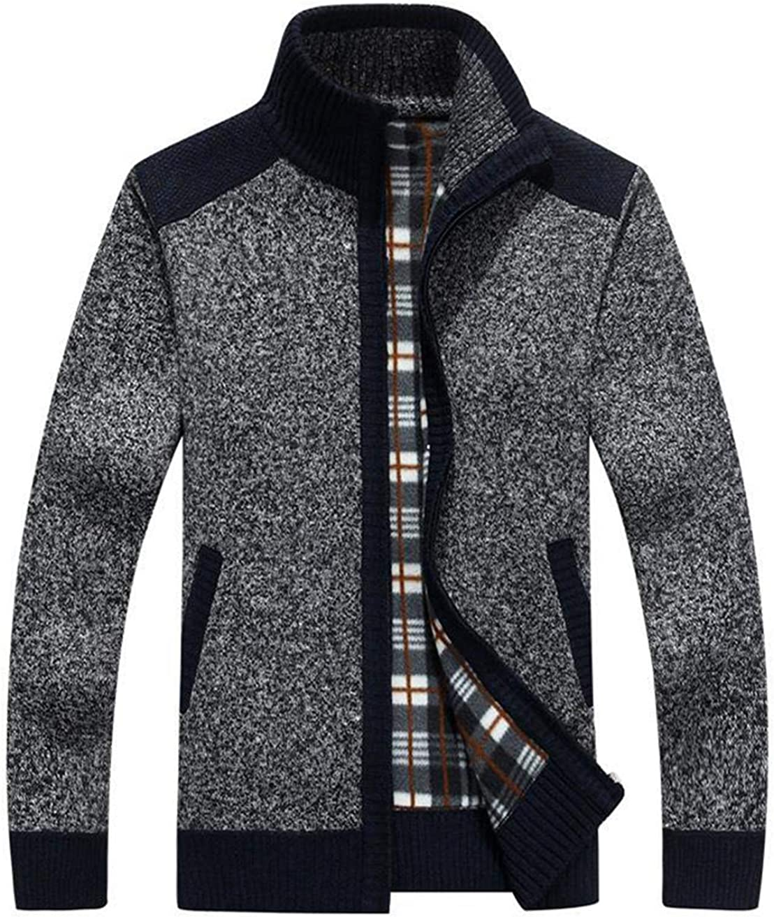 Vcansion Manufacturer regenerated product Men's Classic Superlatite Soft Cardigan Knitted Sweaters