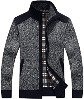 Sponsored Ad - Vcansion Men's Classic Soft Knitted Cardigan Sweaters