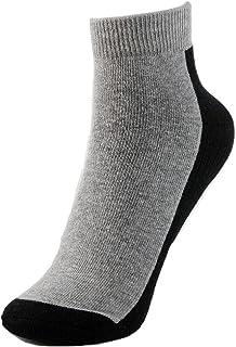 calcetines de deporte de tobillo - Negro/Gris