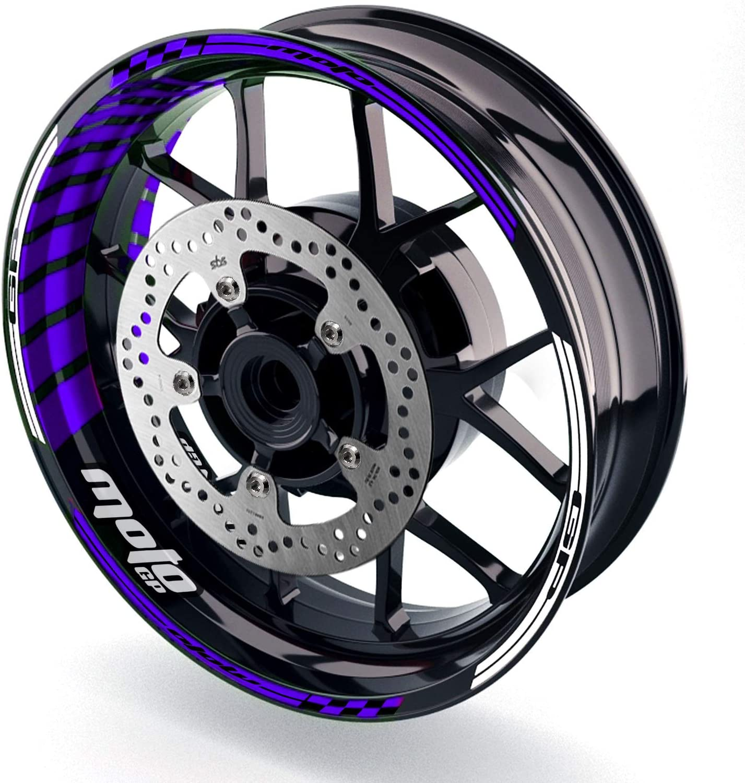 MC MOTOPARTS Rim Wheel Decal Compatibl 17 GP02 inch Stickers San Jose Now on sale Mall