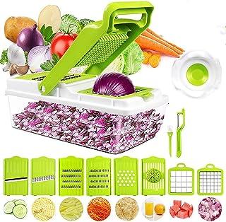 D L D Hachoir à légumes, hachoir à légumes, hachoir à légumes, hachoir à oignons, hachoir à légumes, pommes de terre, frui...
