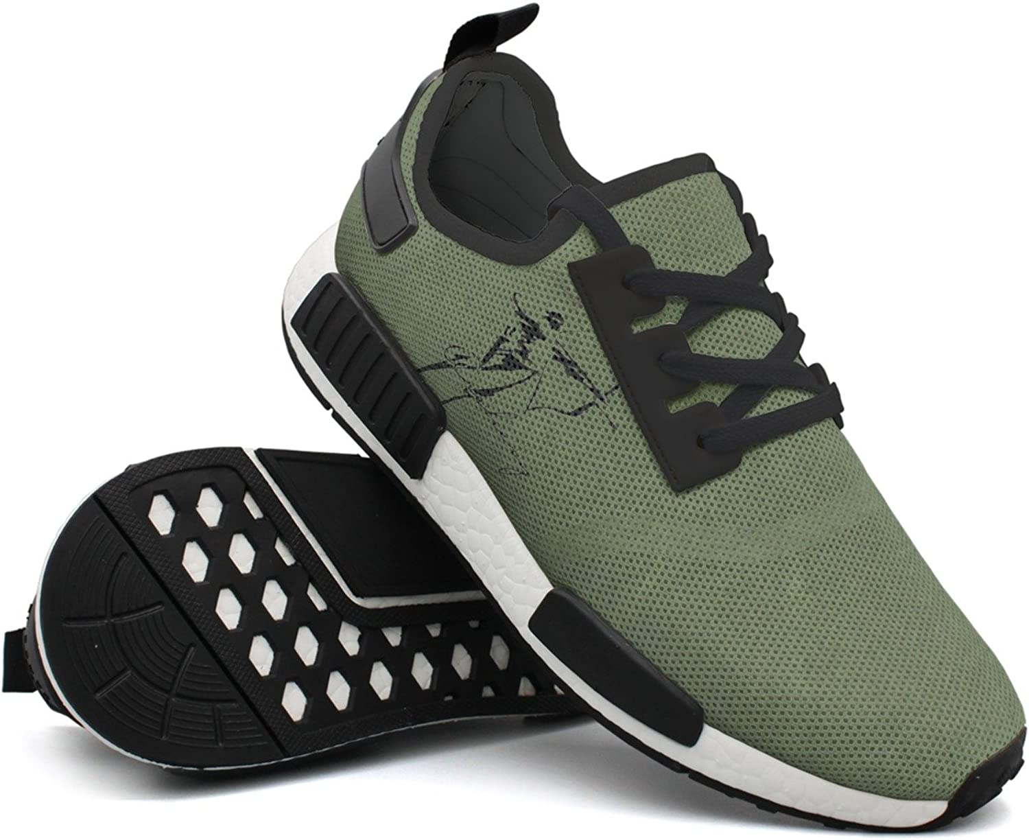 Archery Design Man's Gift Navy Running shoes New Young Men
