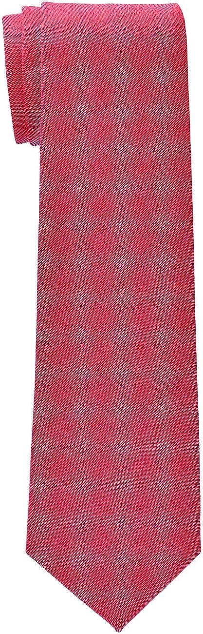 Retreez Solid Plain Color Cotton Boy's Tie - 8-10 years