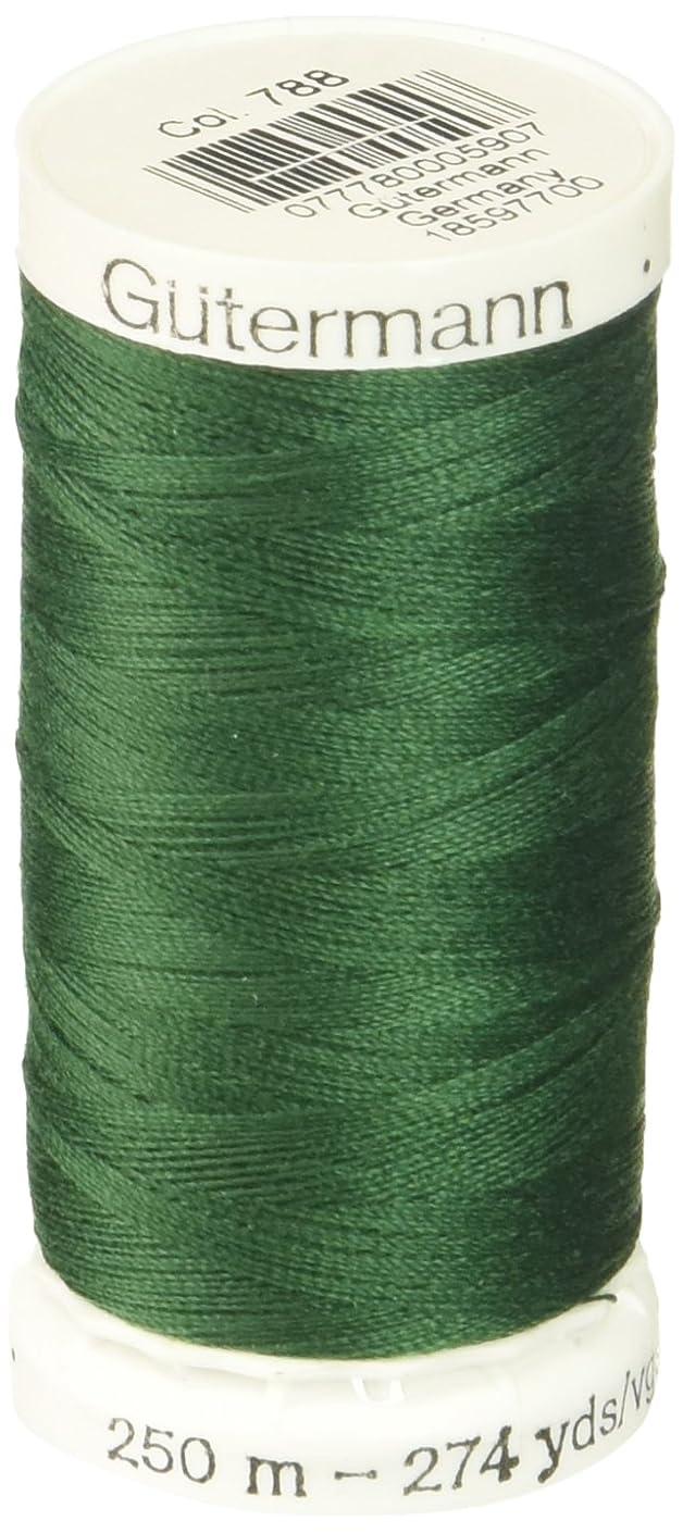 Gutermann Sew-All Thread 273 Yards-Dark Green