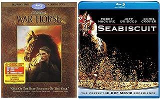 War Horse / Seabiscuit (5 Disc Blu Ray Set)