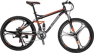 EUROBIKE MTB マウンテンバイク S7 27.5 21段変速 前後ディスクブレーキ ハードテイル自転車